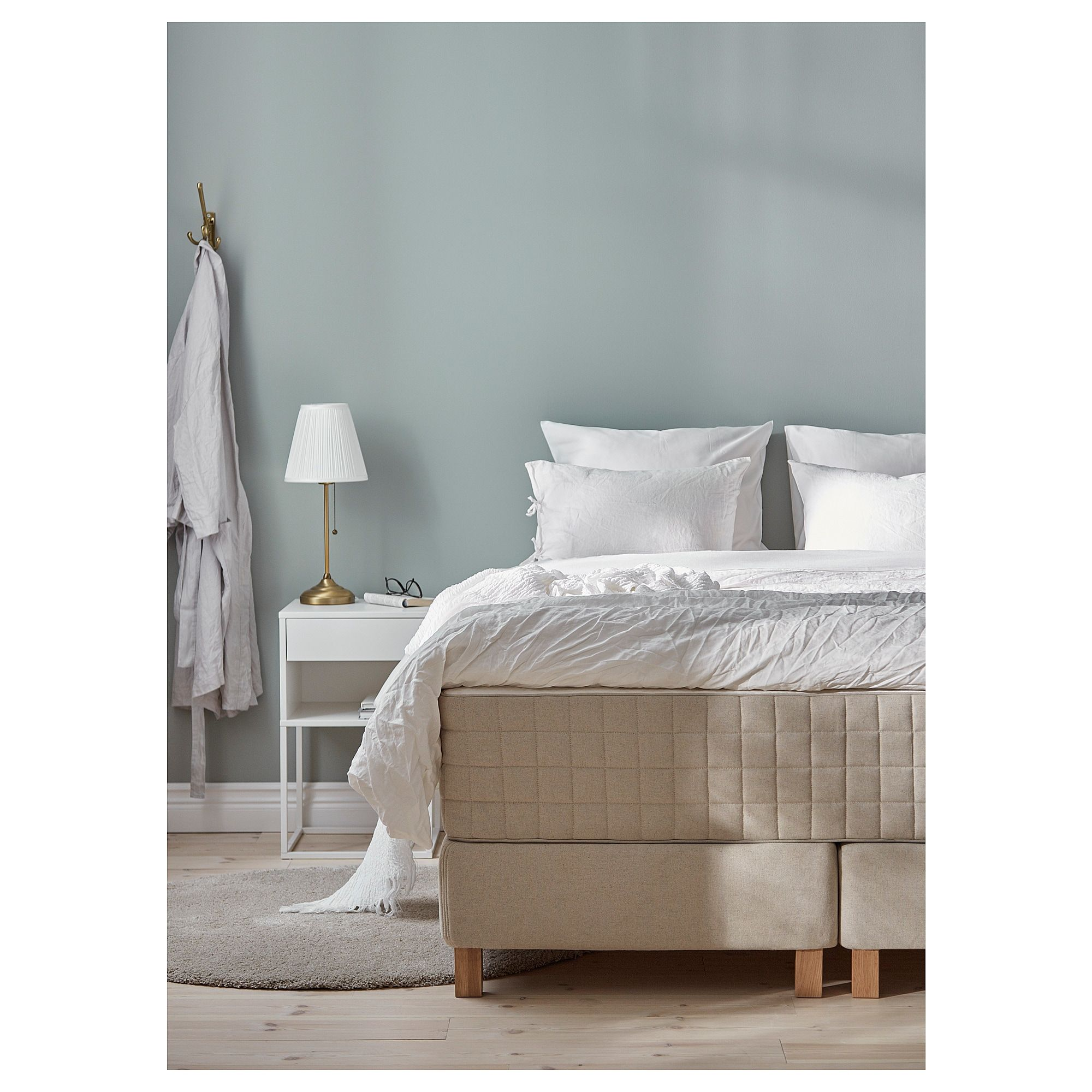 Ikea Boxspring 220 Cm Us Furniture And Home Furnishings In 2019 Ikea Bed Bed