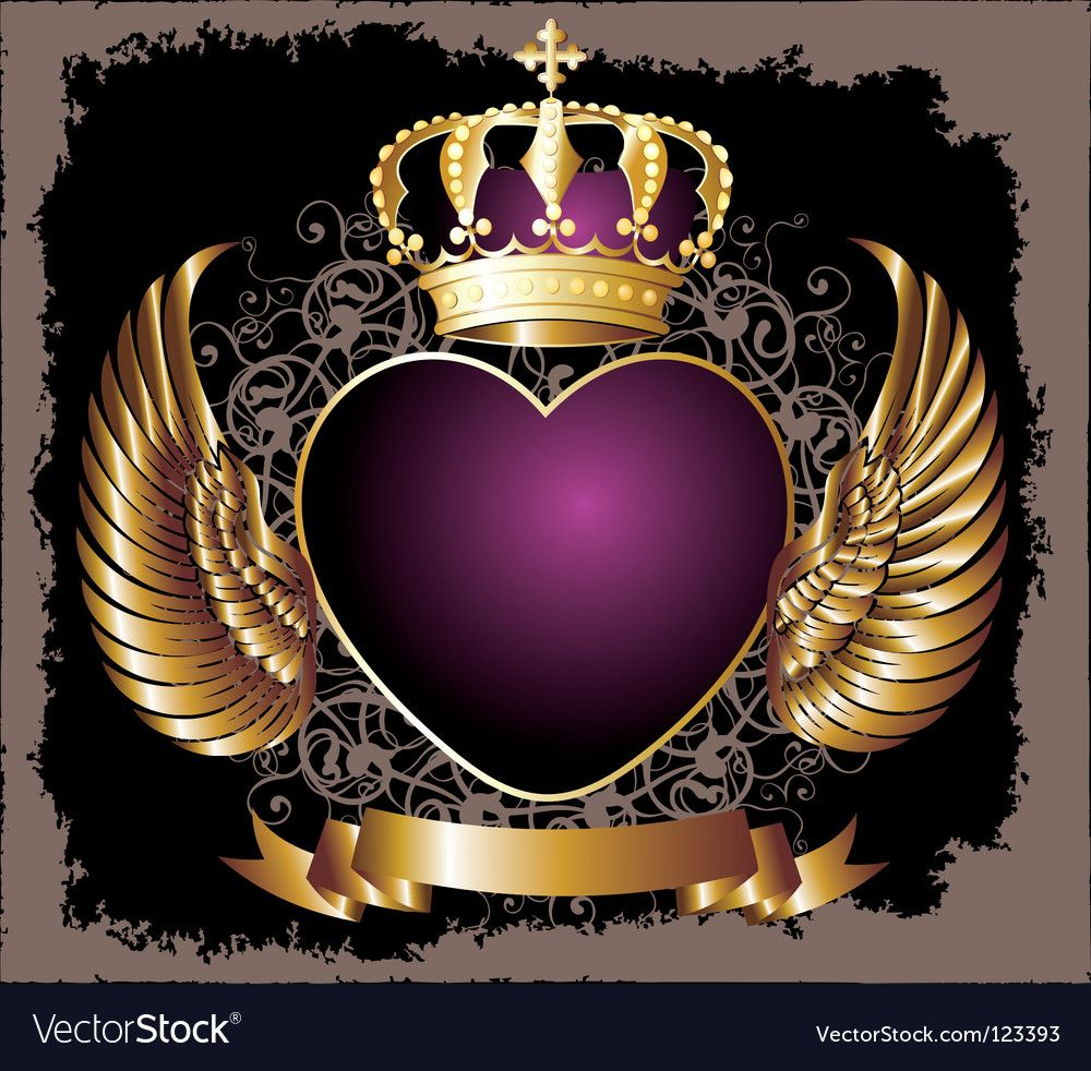 Royal Crown Royalty Free Vector Image Vectorstock جهاد