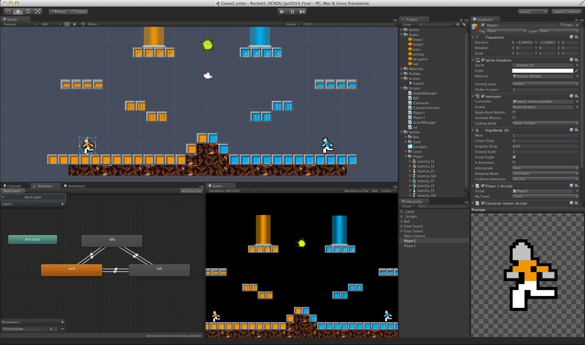 Unity Tutorial 2d Platformer Game Unity Unity Games