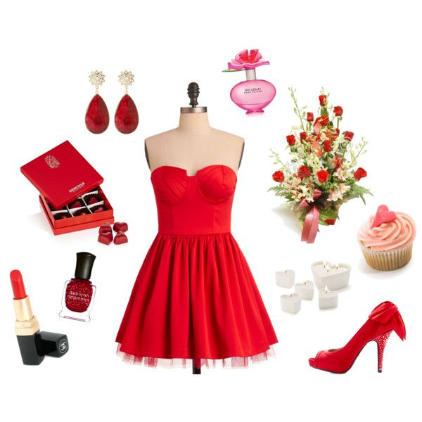 """Sexy Valentine's Day"" by primped on Polyvore"