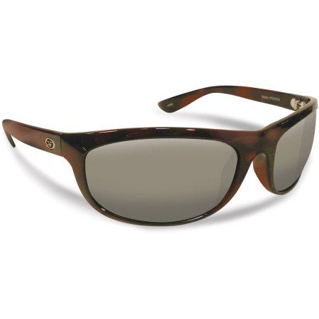 Flying Fisherman Azore Polarized Sunglasses, Tortoise Frame, Smoke Lens, Men's, Multicolor