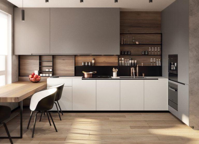 10 Thiết kế tủ bếp mở đẹp đến ngỡ ngàng   Bep.vn -