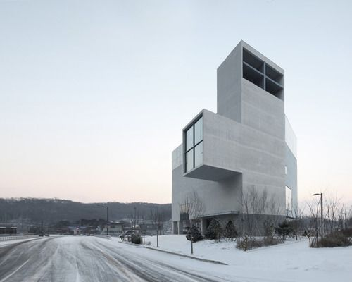 RW Concrete Church by NAMELESS Architecture.