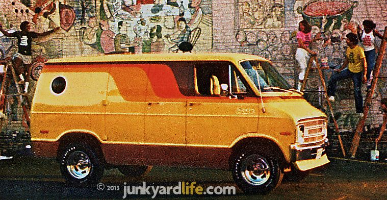 1977 Dodge van. Of course i will need a mural and bubble ...