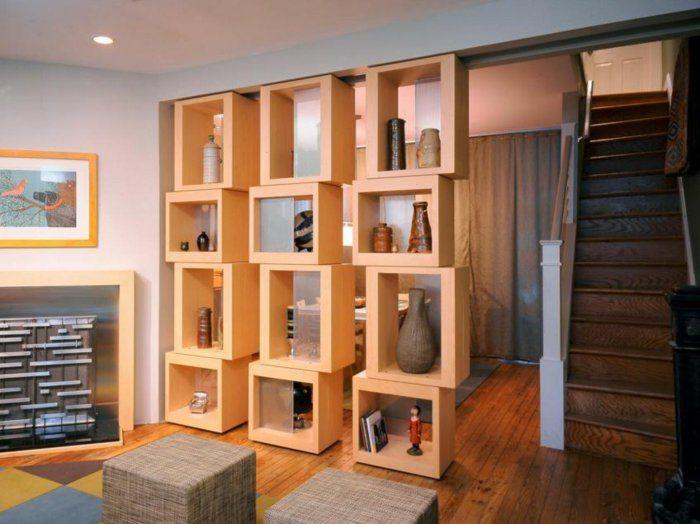 62 gelungene beispiele die f r einen raumtrenner sprechen leseecke wohnzimmer pinterest - Deko vorhang raumteiler ...