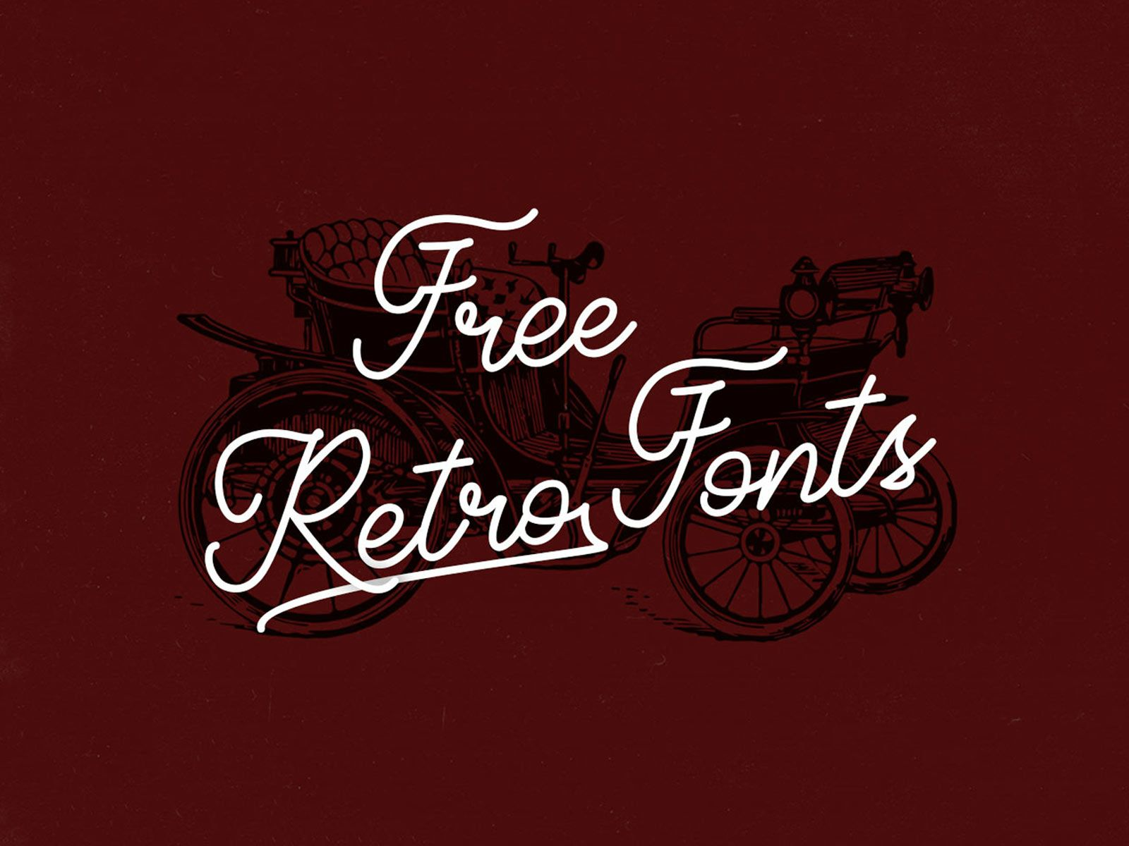 40 Free Retro Fonts For Your Nostalgic Mood Retro Font Vintage Fonts Retro
