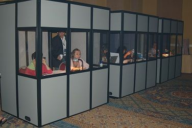 Image result for conference interpreting booth