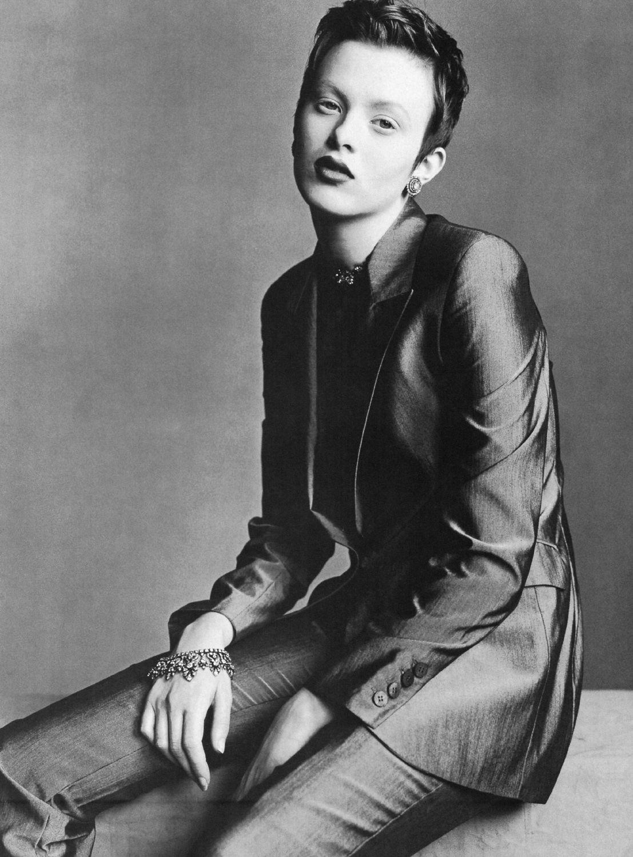 US Vogue March 1998 Sophisticated Lady Ph. Steven Meisel Fashion editor: Grace Coddington Models: Carolyn Murphy & Karen Elson