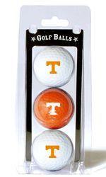Tennessee Volunteers 3 Pack of Golf Balls