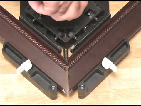 miter tight picture frame clamp tool video rocklercom