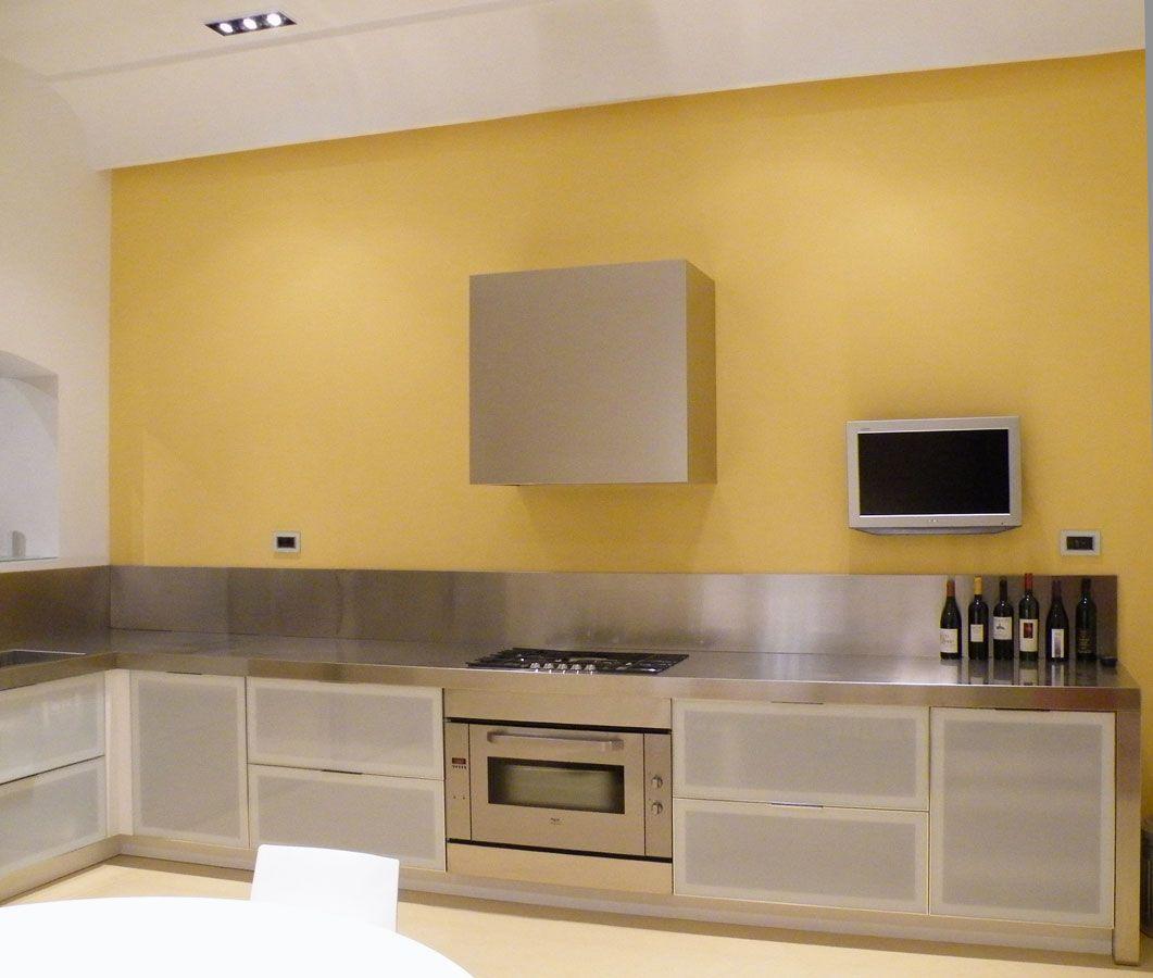 Cucina senza pensili #DORIArchitetti #cucina #kitchen #materia ...