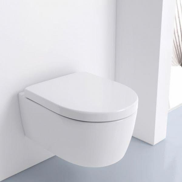 Wundervoll Keramag iCon Wand-Tiefspül-WC 204060000 ohne Spülrand - MEGABAD  DP89