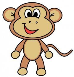 how to draw a cartoon monkey with this easy to follow step by step