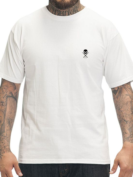 """Men's """"Standard Issue"""" Tee by Sullen Clothing (White/Black)"""