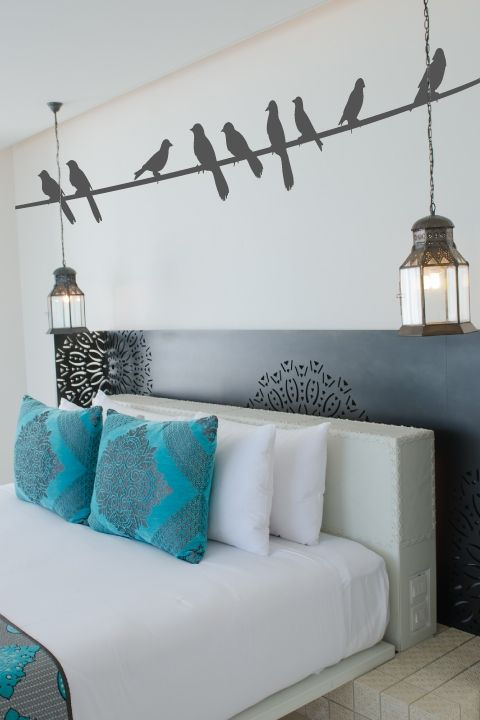 Birds on a Wire Wall Decals | Pinterest | Wall decals, Walls and ...