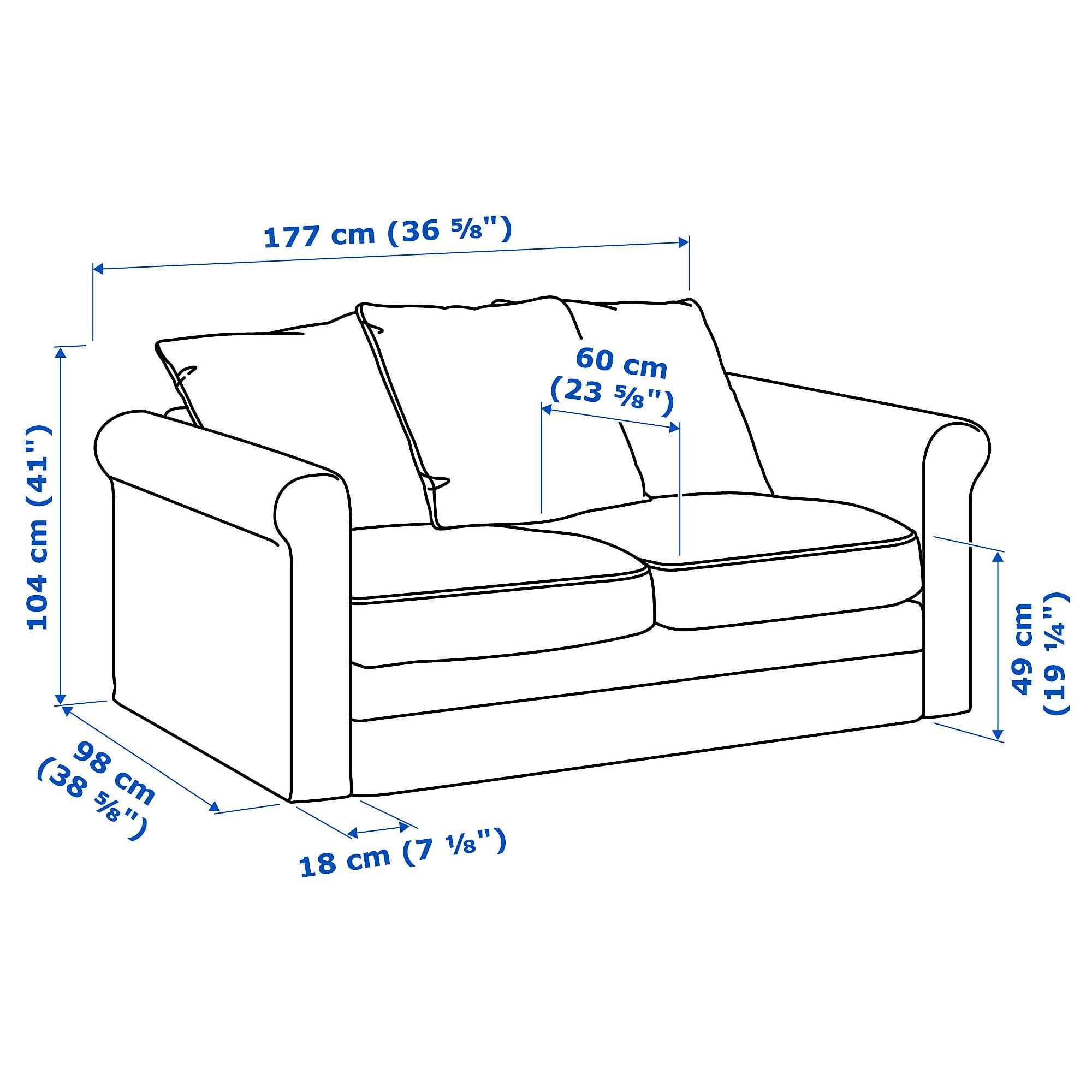 Furniture And Home Furnishings With Images Love Seat Ikea Deep Seat Cushions