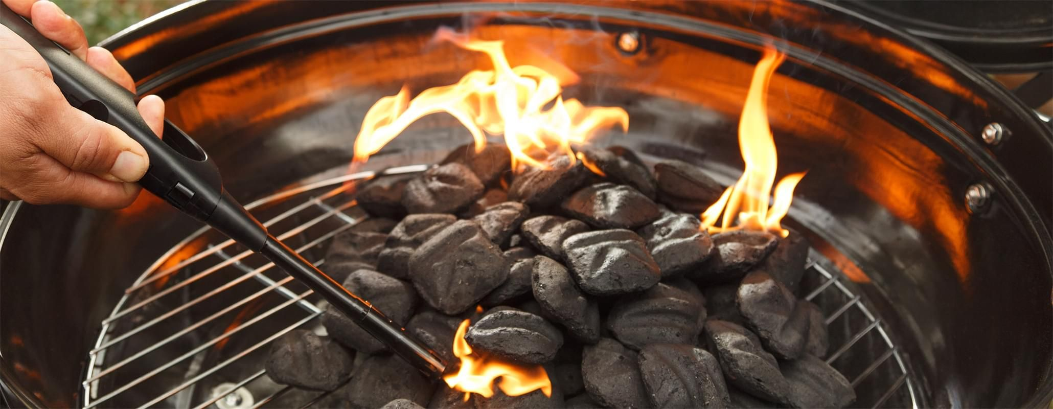 How to light a charcoal grill kingsford with images