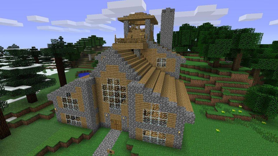 Cool minecraft house designs xbox 360 images for Modern house xbox minecraft