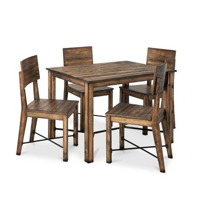 Mudhut Perdana Dining Collection Brown Dining Table Large