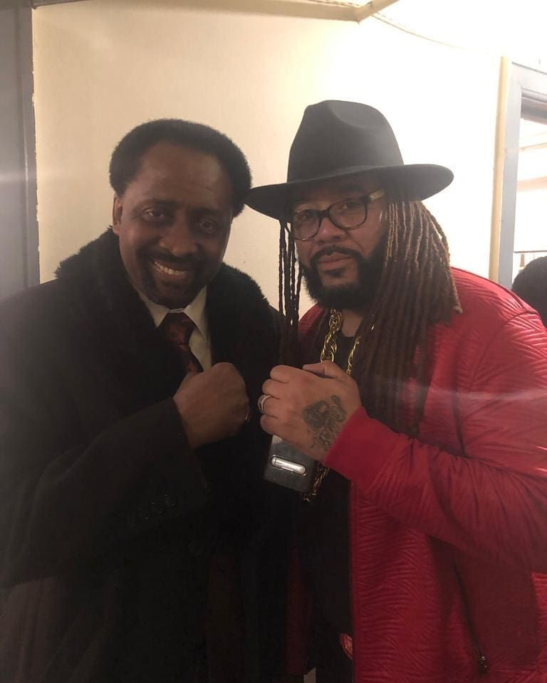 The Hitman Tommy Hearns He S Smiling Bcuz I Told Him I Would Do Him Like He Did Martin Lol Hitman Tommy Lol