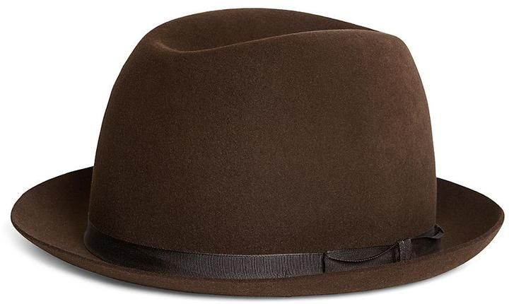 6322c371858 Brooks Brothers Lock and Co. Sandown Dark Brown Trilby on shopstyle ...