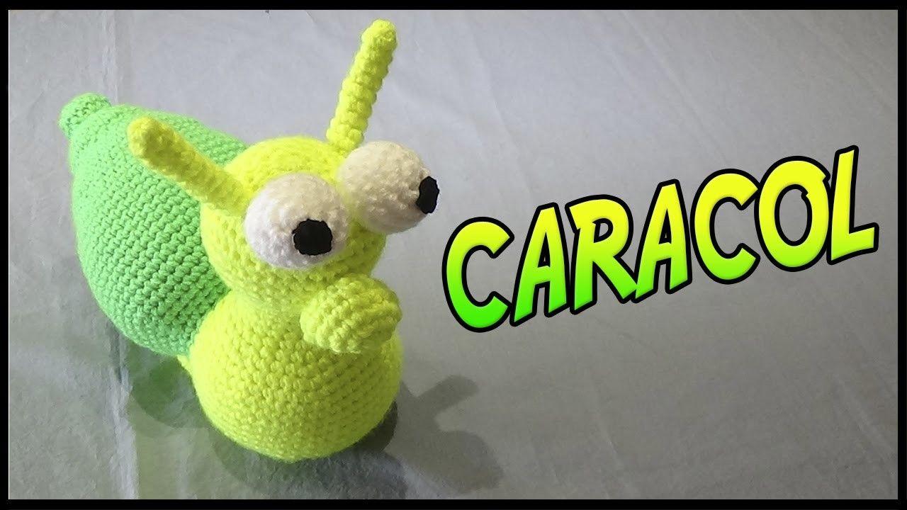 Caracol a crochet