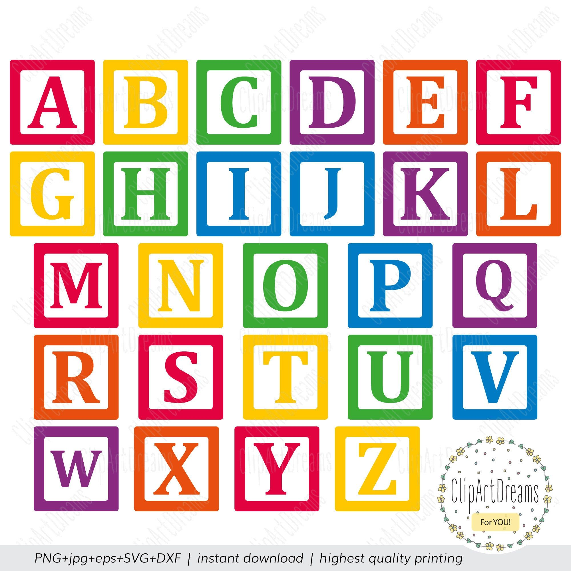 Building Block Font Svg Toy Blocks Letters Alphabet Abc Baby Etsy Block Letter Alphabet Lettering Alphabet Block Lettering