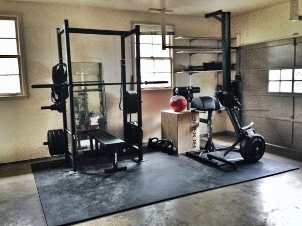 Yet another rogue equipped gym spiffy garage