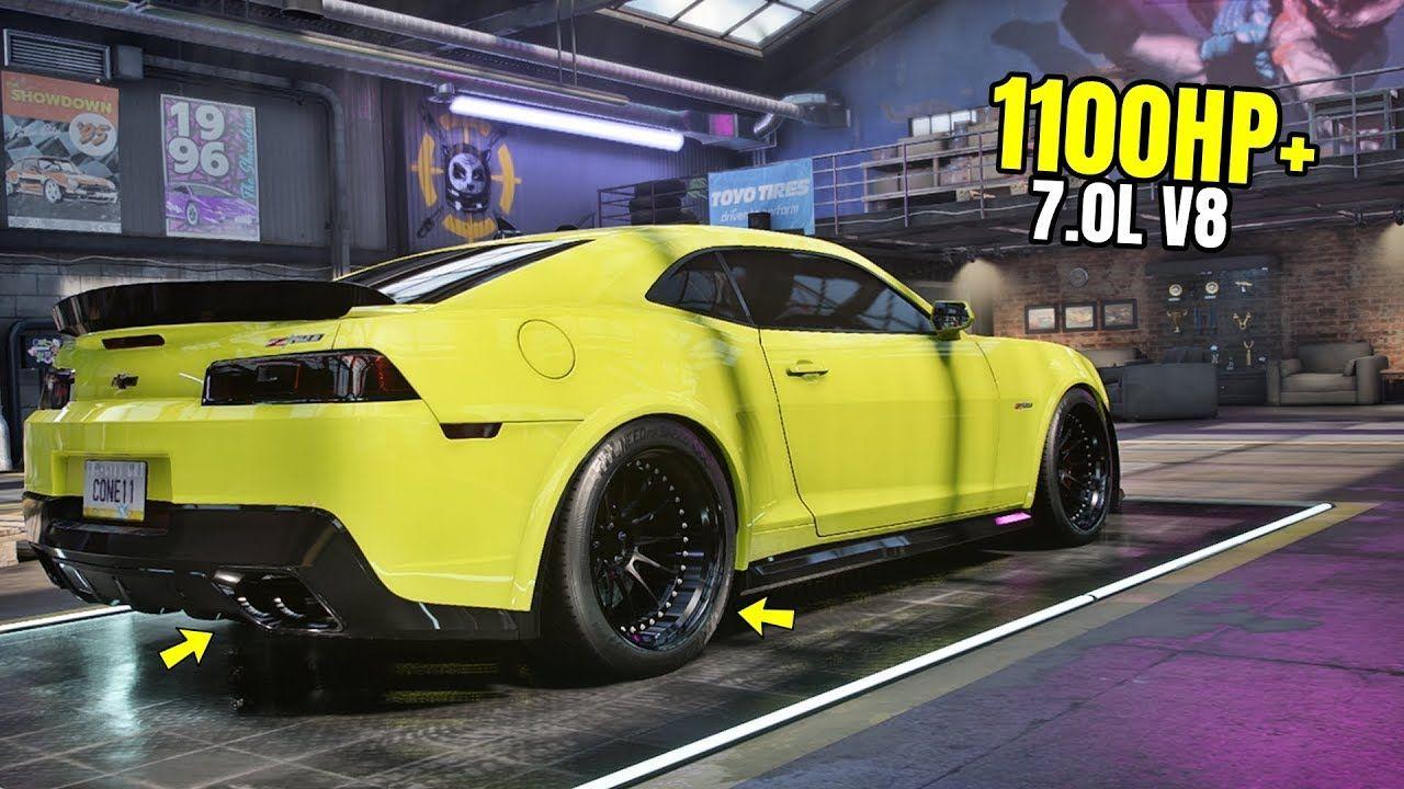 Need For Speed Heat Gameplay 1100hp Chevrolet Camaro Z28