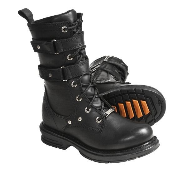 Harley-Davidson Bonita Motorcycle Boots - Leather (For Women ...
