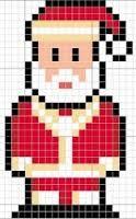 Resultado de imagem para graficos ponto cruz natal papai noel