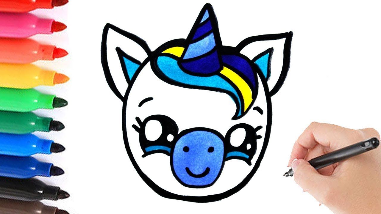 How To Draw A Baby Boy Unicorn Leren Tekenen Eenhoorn Leer Tekenen Eenhoorn Tekenen Tekenen