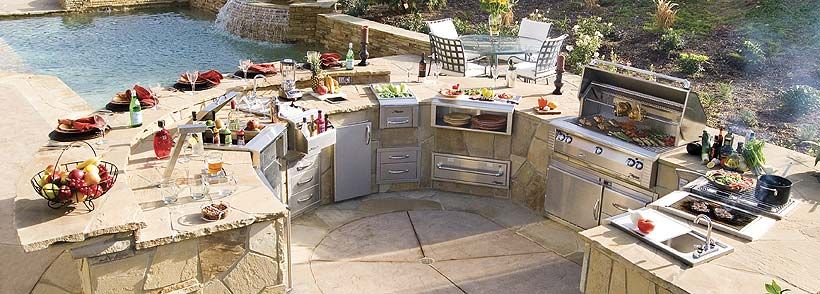 17 Best images about Outdoor Kitchens – Backyard Kitchens