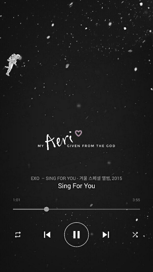 Được nhúng   Myself in 2019   Exo, Exo songs, Exo lockscreen