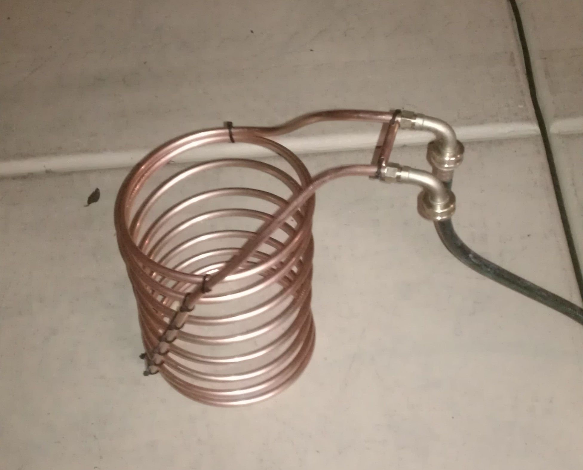 Diy immersion wort chiller with images home brewing