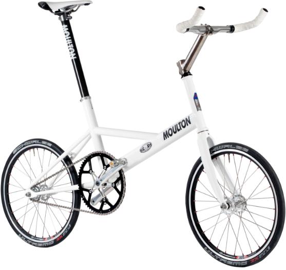 Moulton Track Bike Gets Olympic Velodrome Try Out Sepeda Olahraga