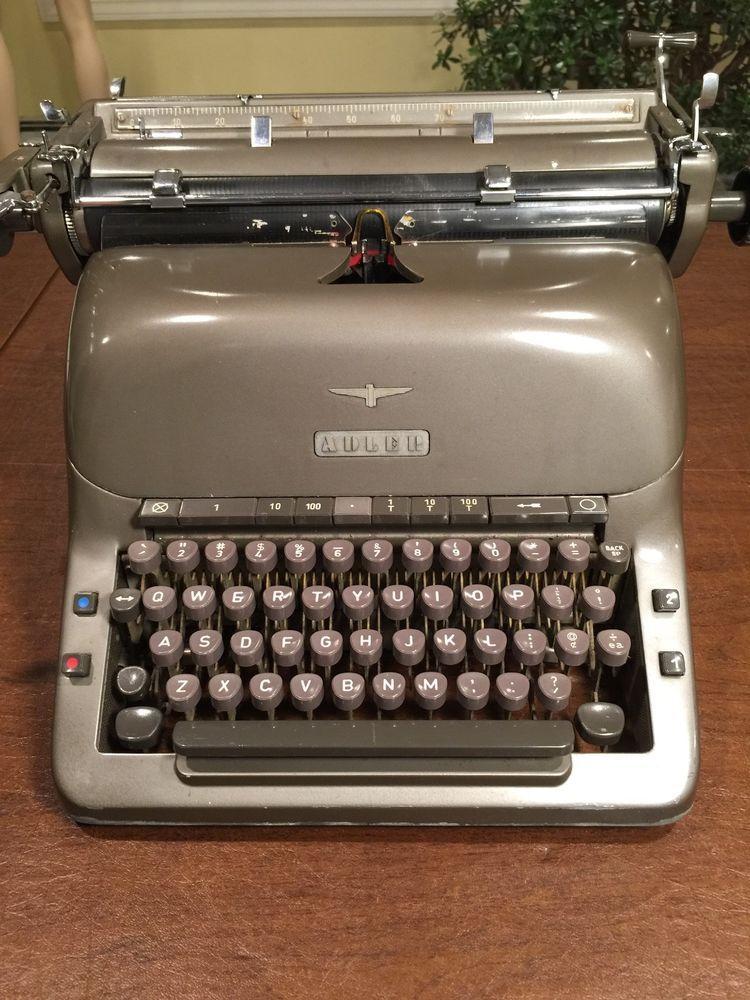 c9e9cb17dd174 Details about Vintage 1950s Mid Century Royal Standard Typewriter ...