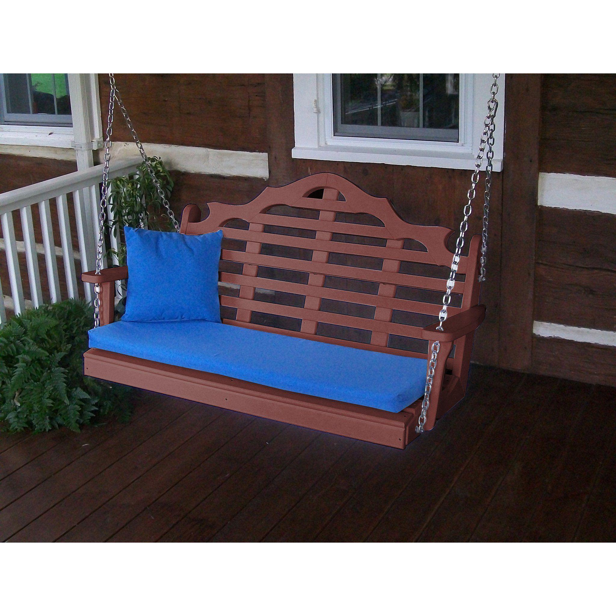 A Amp L Furniture Company Marlboro Recycled Plastic 5ft Porch