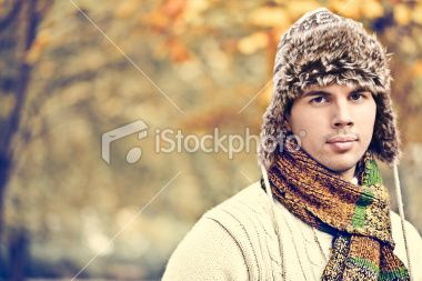Outdoors portrait of a handsome young man Royalty Free Stock Photo