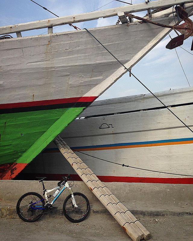 Bike And Boat Bike Bicycle Boat Port Ship Boat Jakarta