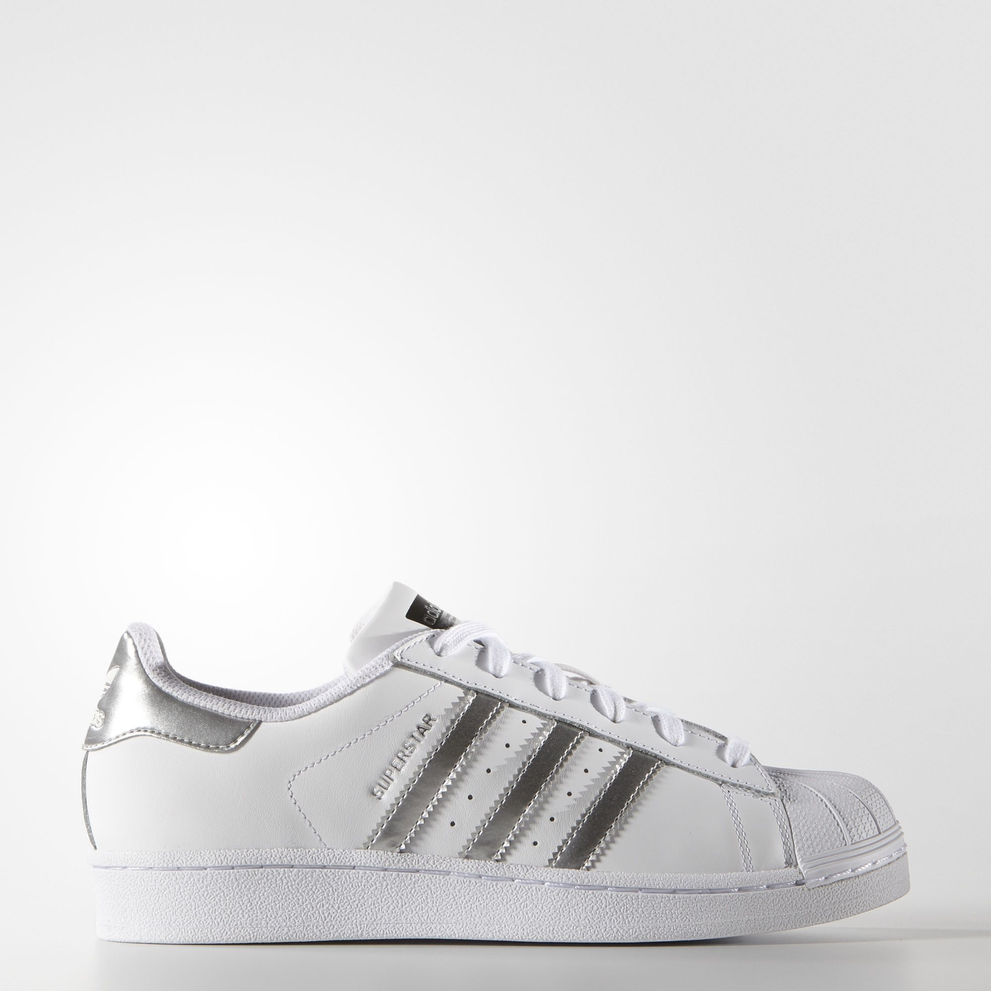 wholesale dealer a7616 d401e scarpe da ginnastica donna 2017  adidas  superstar  silver
