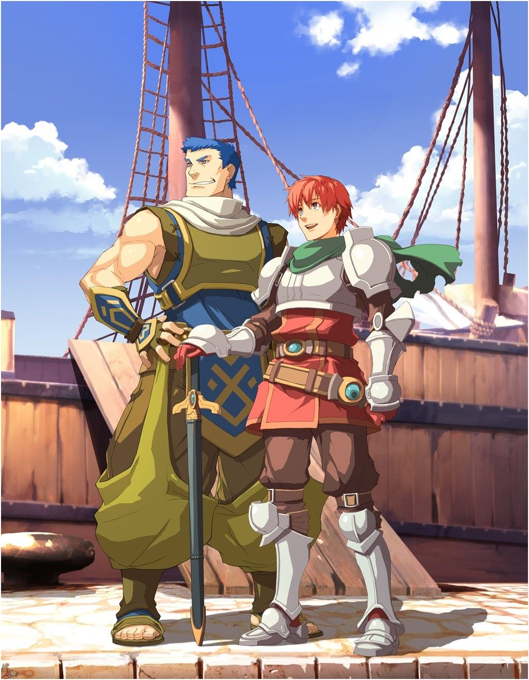 Ys Seven Anime toon, Anime, Video game characters