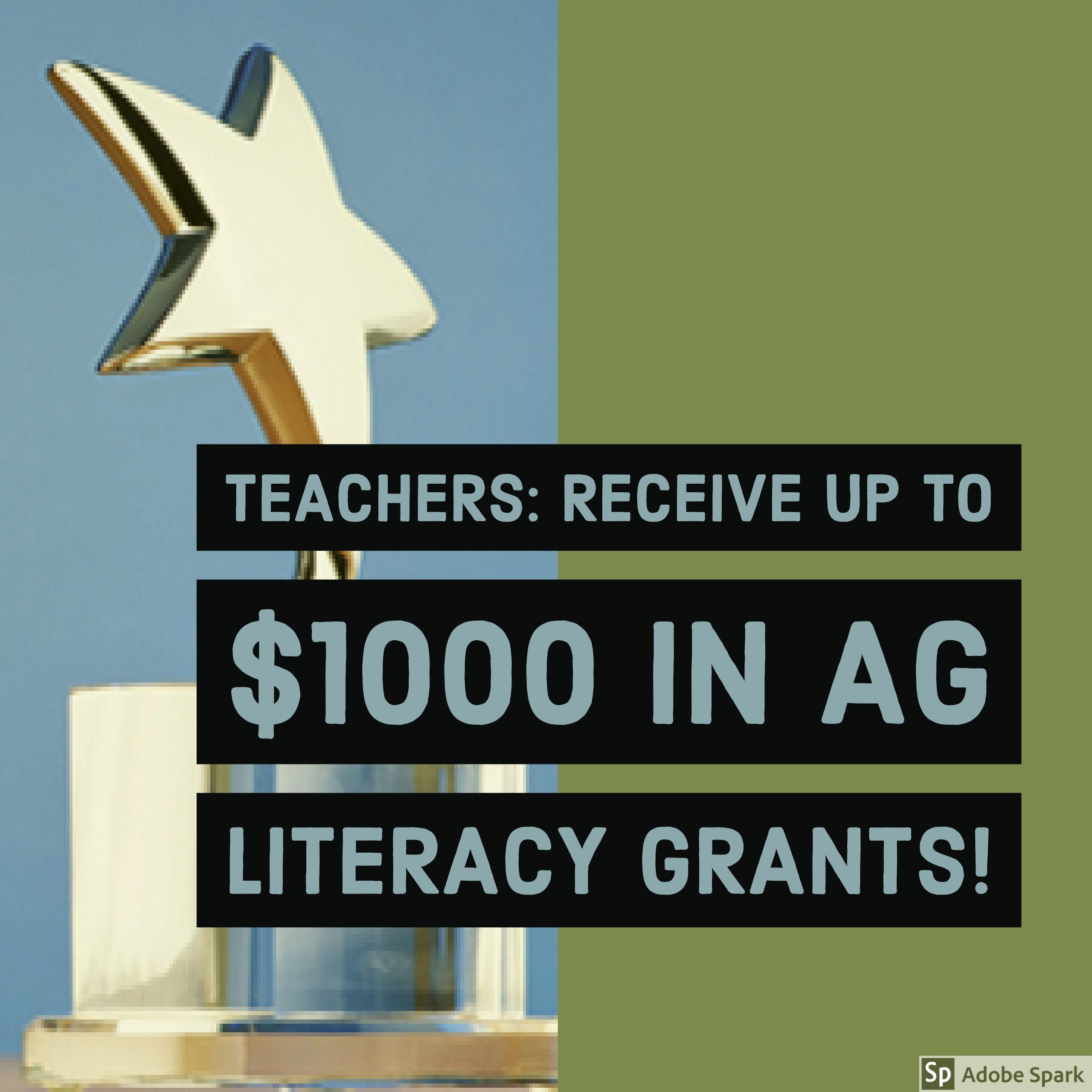Teachers Ffa Chapters And 4h Programs Apply To Receive