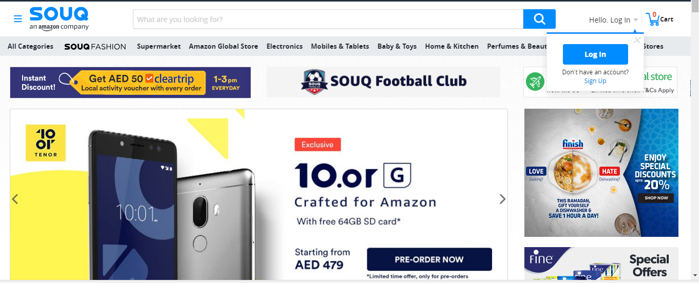 Souq is a #Multimega website Products offered at Souq are