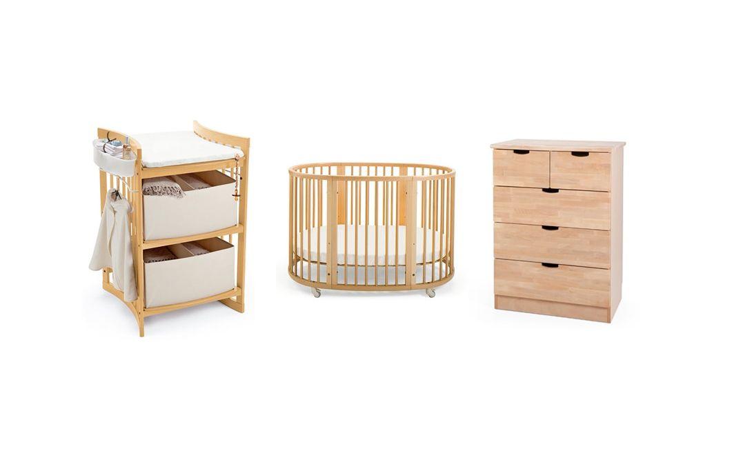 Stokke nursery furniture – Care changing table, Sleepi convertible ...