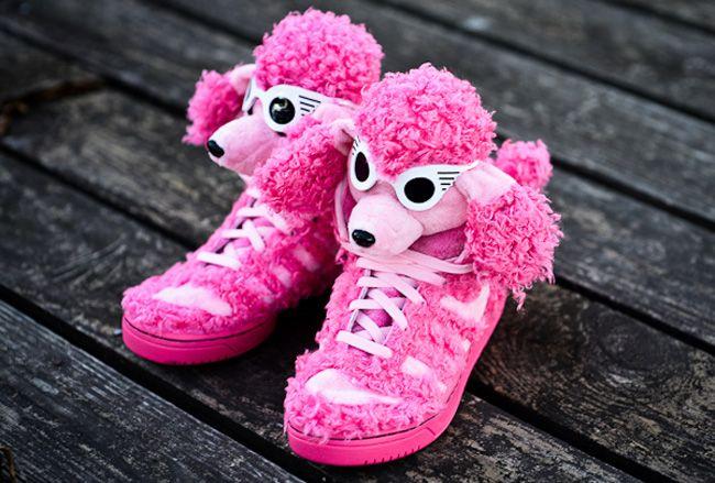 adidas Originals JS Pink Poodle by Jeremy Scott