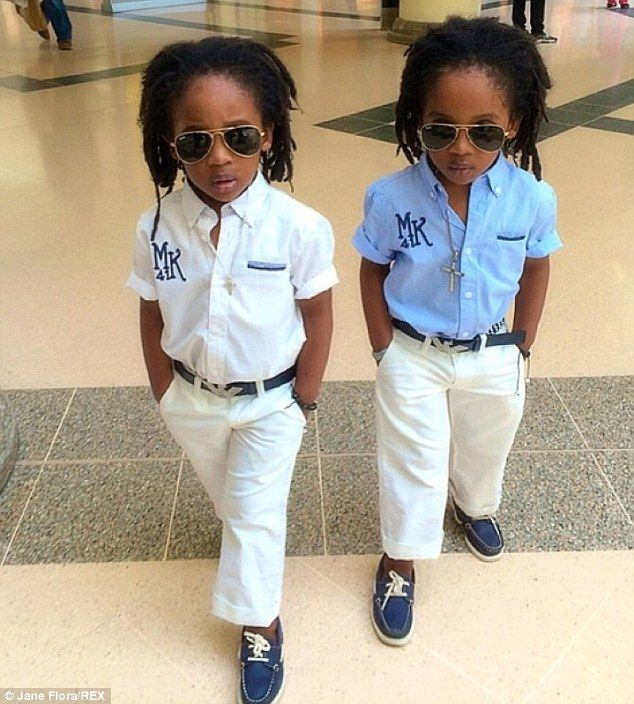 Meet the teeny twinstagram trendsetters | So cute! | Black ...
