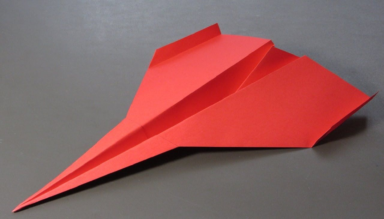 How to make handmade paper planes that go far
