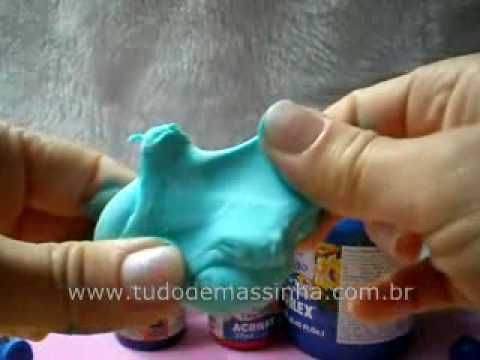 Aula de Biscuit - Tingindo Massa Biscuit - YouTube
