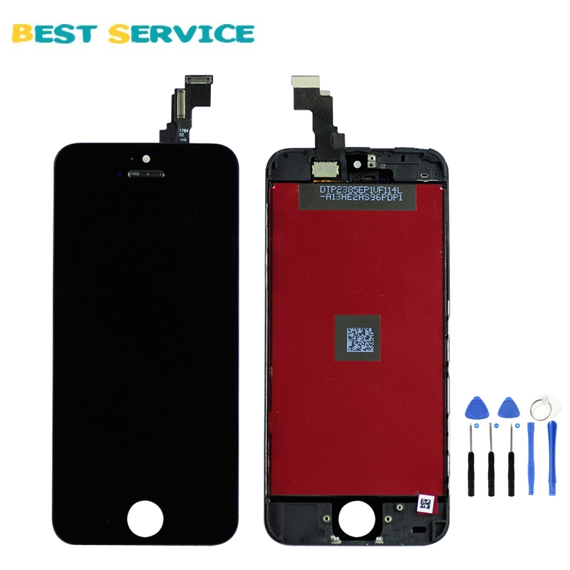 13.80$  Watch now - http://ali8w1.shopchina.info/go.php?t=1547207777 - Grade AAA No Dead Pixel For iPhone 6 5 5S 5C LCD Display With Touch Screen Digitizer Assembly Black White + Tools Free Shipping  #bestbuy
